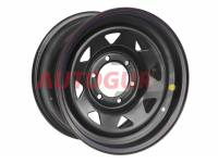 Диск колесный стальной УАЗ OFF-ROAD Wheels 1680-53910 BL -25 A17 (черный)