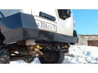 Бампер Т-34 задний усиленный на УАЗ Патриот