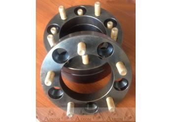 Расширитель колеи (ступичные проставки) УАЗ (5*139,7) 50 мм (сталь)